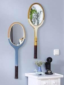 Wie Wird Ein Spiegel Hergestellt : upcycling aus einem tennisschl ger wird ein spiegel inspiration ~ Bigdaddyawards.com Haus und Dekorationen