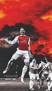 Olivier Giroud by Lagvilava on DeviantArt