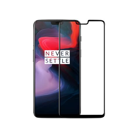 official 3d tempered glass screen protector for oneplus 6