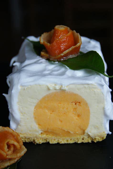 bon cadeau cours de cuisine bûche glacée mascarpone coeur mandarine