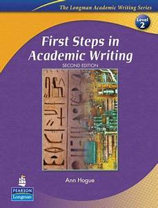 Bestseller Books Online First Steps In Academic Writing