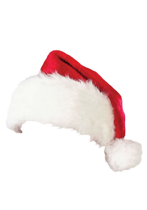 plush santa hat red santa claus hats