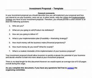 investment proposal sample return on investment proposal With roi proposal template