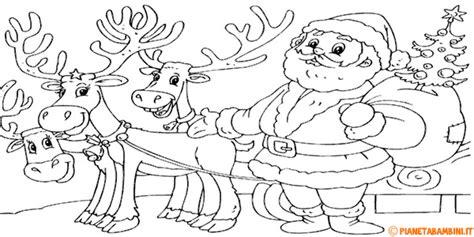 disegni da colorare natale 42 disegni di renne di babbo natale da colorare