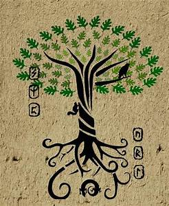 Yggdrasil -The World Tree- by Duende14 on DeviantArt