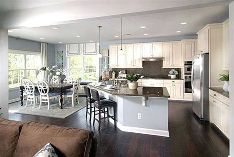 kitchen living room open floor plan paint colors open concept living room dining room kitchen kitchen 9908
