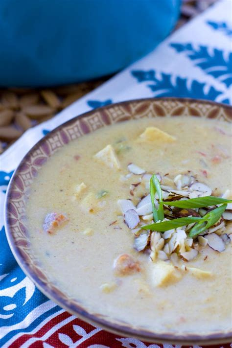 Curried parsnip soup with shredded apples bon appétit, november 2003. Creamy Chicken Curry Soup - Food, Folks and Fun