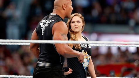 Ronda Rousey Teams Up With The Rock To Rule Wrestlemania