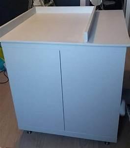 Rangement Table à Langer : un meuble langer avec du rangement bidouilles ikea ~ Teatrodelosmanantiales.com Idées de Décoration