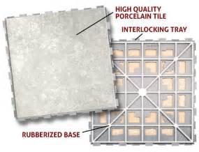 snapstone floating porcelain tile system features of snapstone floating flooring system