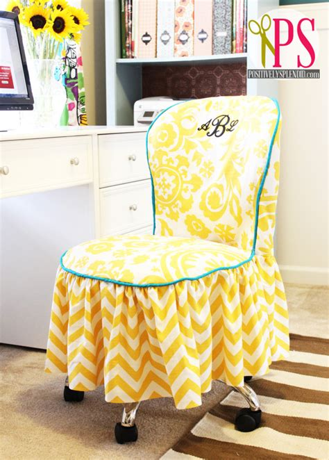 diy chair slipcover picture of diy office chair slipcover