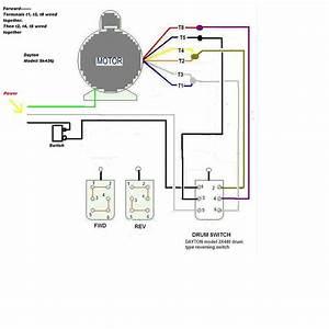 Dayton Reversible Motor Wiring Diagram