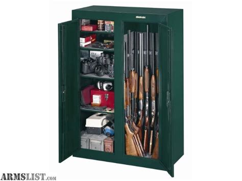 16 or 31 gun double door security cabinet armslist for sale stack on 16 to 31 gun convertible