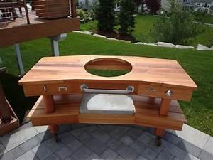 Large Green Egg Table Plans diywoodtableplans