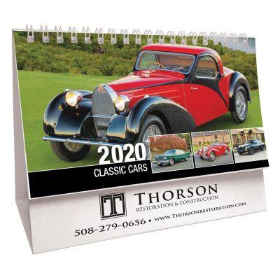 classic cars promotional desk calendar desk calendars