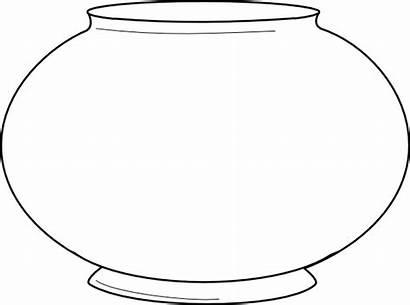 Fish Bowl Coloring Empty Clip Seuss Dr
