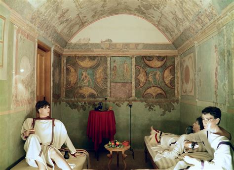Filea Richly Decorated Triclinium (officer's Dining Room