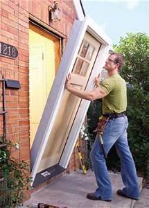 comment poser une porte d39 entree tout sur la pose d With installer une porte d entree