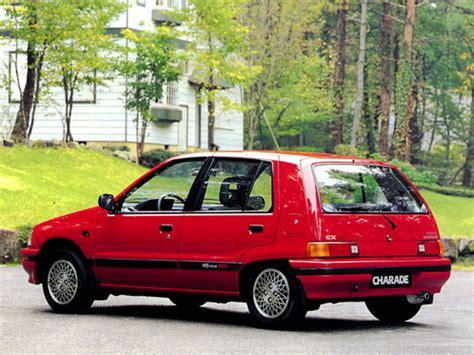 1989 Daihatsu Charade by 1989 Daihatsu Charade Information And Photos Momentcar