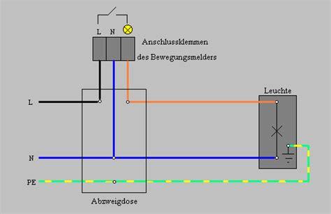 kann 2 bewegungsmelder an eine le anschließen anleitung bewegungsmelder anschlie 223 en mit schaltplan