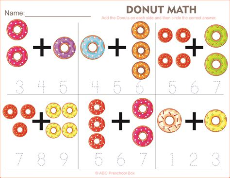 9 preschool math worksheets ars eloquentiae