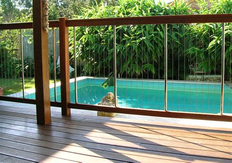 pool deck fencing ideas enchanting pool fence design ideas with modern architecture with brown wooden swimming pool