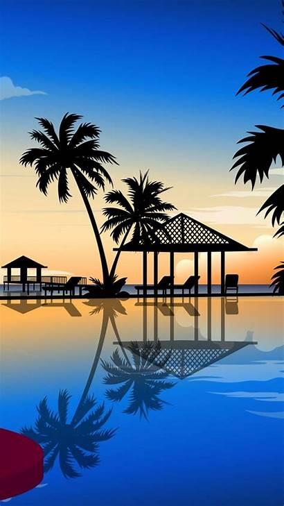 Phone Mobile Wallpapers 720 1280 Resort Scenery
