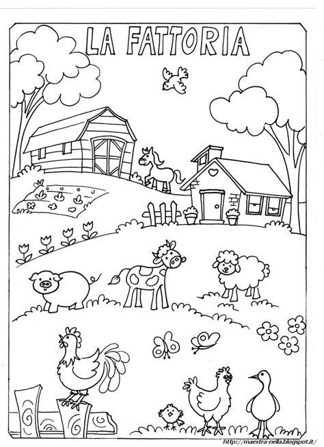 disegni da colorare  animali fattoria timazighin