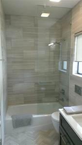 bathroom 12quot x 24quot valentino gray marble walls floor With 12x24 tiles in bathroom