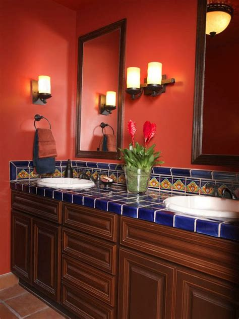cool bold red bathroom design ideas digsdigs