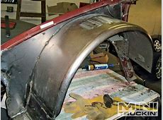 Custom Inner Wheel wells TubingRolled Fenders Chevy
