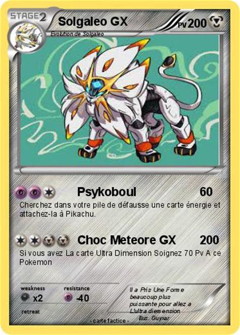 pokemon solgaleo gx   psykoboul ma carte pokemon