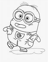 Coloring Tongue Clipart Minion sketch template
