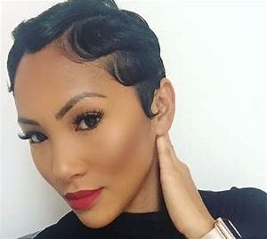 Flat Iron Hairstyles For Black Short Hair Black Hairstyle