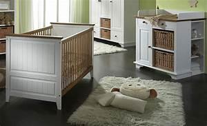 Babybett Komplett Mit Wickelkommode : babybett wickelkommode unterbauregal wei honig kiefer massiv ~ Watch28wear.com Haus und Dekorationen