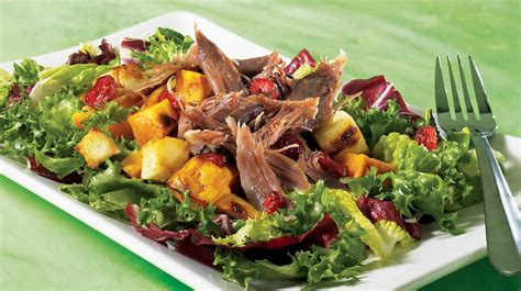 cuisine az recettes salade aux légumes grillés et au canard confit recettes