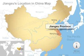 jiangsu map map  jiangsus tourist attractions  cities
