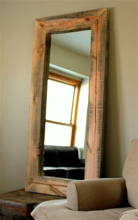floor mirror reclaimed wood reclaimed wood mirror floor mirrors denver by jw atlas wood co