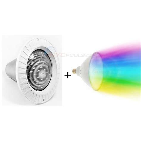pureline colors led pool light fixture 12v 30 cord