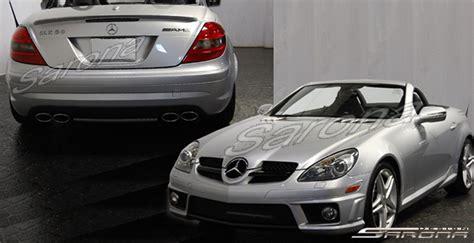 custom mercedes slk coupe body kit