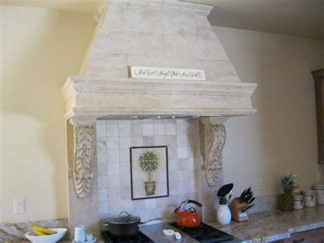 Kitchen Hoods   California Cast Stone Manufacturer