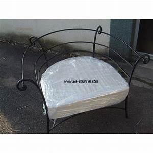 Fauteuil Fer Forgé : fauteuil fer forg fauteuil fer forg axe industries ~ Teatrodelosmanantiales.com Idées de Décoration