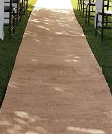 burlap runners wedding burlap aisle runners burlapfabric burlap for wedding and special events