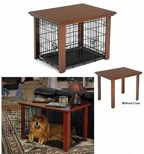 table for dog crate products i love pinterest With small dog crate table