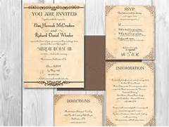 Country Wedding Invitations Template Best Template Collection Rustic Chic Wedding Invitations For Pinterest Rustic Wedding Invitation Templates Wedding Invitation Templates Rustic Invitations Template Stock Vector Wedding Invitation Template