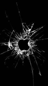 Broken Glass Apple iPhone 5 / SE Wallpaper