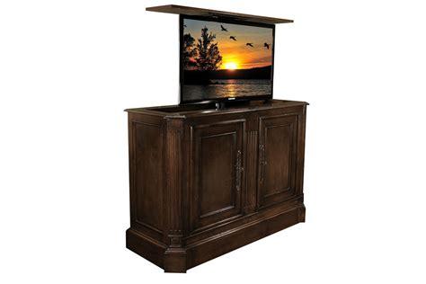 tv lift cabinets flat screen tv riser tv lift cabinets