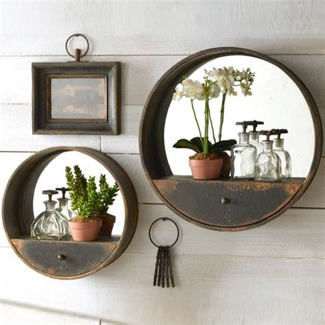 mirror  shelf decorative  wall mirrors