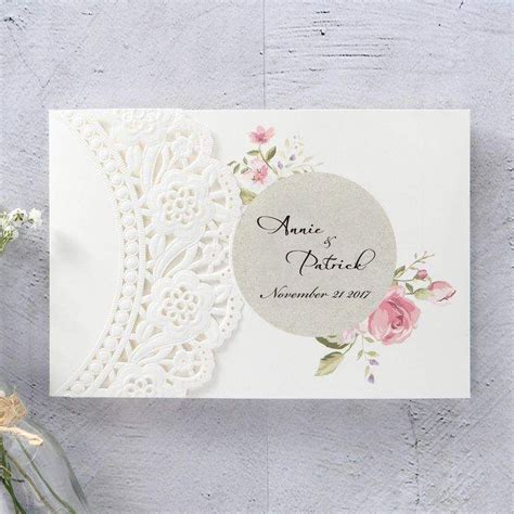 lace wedding invitations  images fun wedding