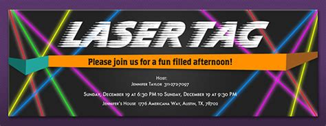 Free laser tag birthday invitations menshealtharts free birthday invitations send online or by text evite filmwisefo
